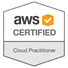 Badge - AWS certified Cloud Practitioner